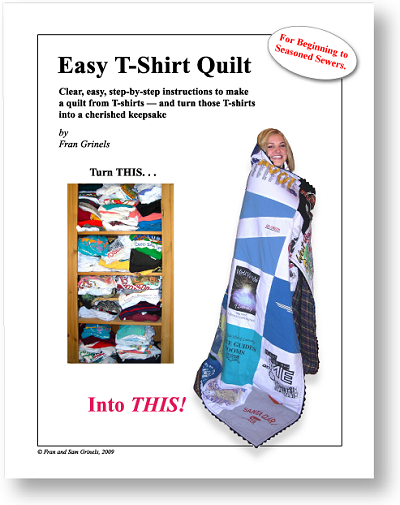 T Shirt Quilt Instructions