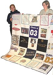 An Easy to Make T-Shirt Quilt