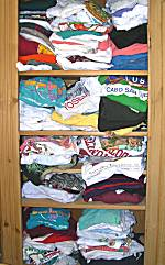 Make a T-Shirt Quilt from those old T-shirts